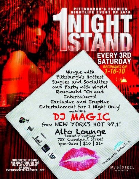 One Night Stand @ Alto Lounge