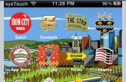 Da' Burgh Theme for iPhone by puckhead451