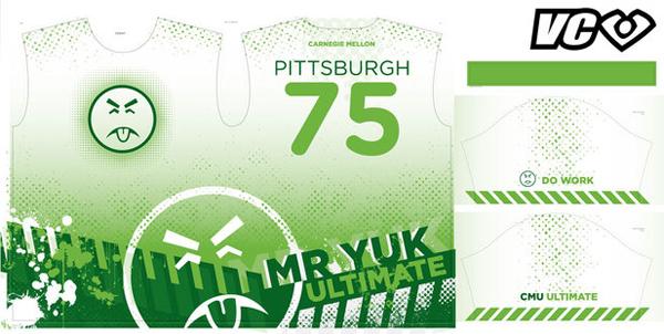 "CMU Ultimate Frisbee Team ""Mr. Yuk"""