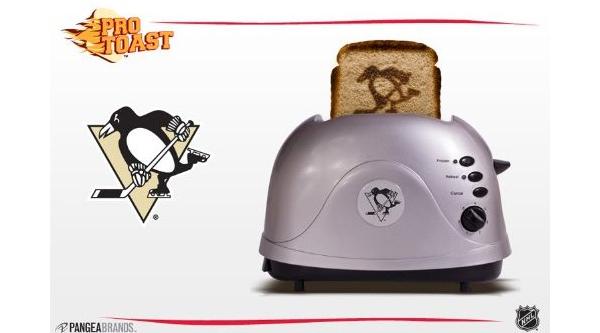 Pittsburgh Penguins Pro-Toast Toaster on Amazon