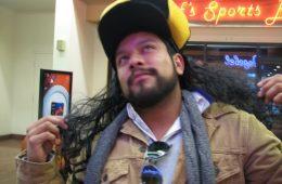 Troy Polamalu look-a-like costume contest