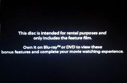 Redbox rental DVDs block extra bonus material