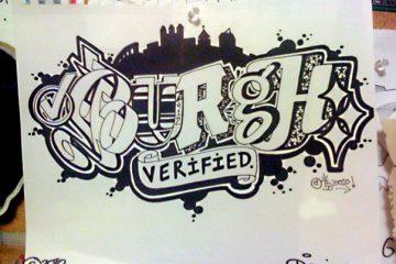 Burgh Verified Street Art by Danny Devine