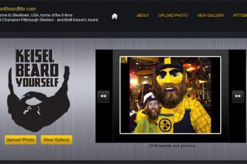Keisel Beard Me - get your own Brett Keisel Beard at KeiselBeardMe.com