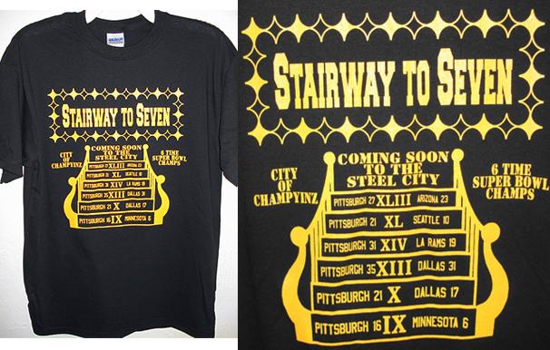 Pittsburgh Steelers Stairway to Seven (song + lyrics) in Boring ... 9ec6943ec6dd