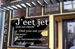 J'eet - a TableforOne restaurant review