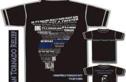 Tyler Tubbs the Tornado Boy T-Shirts