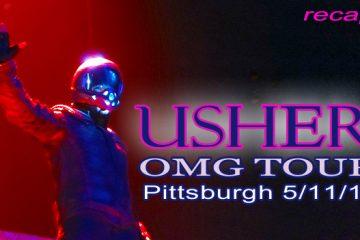 Usher OMG Tour in Pittsburgh 5-11-2011 recap