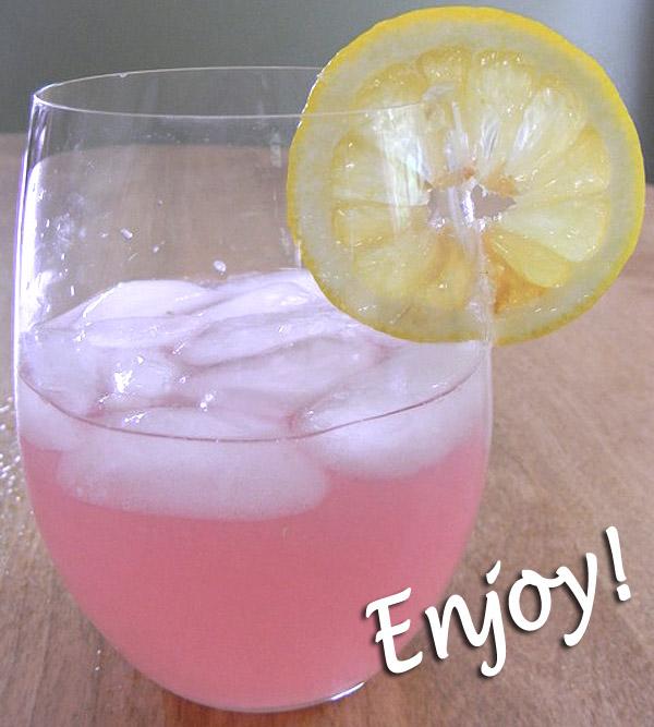 Make your own refreshing lavender lemonade