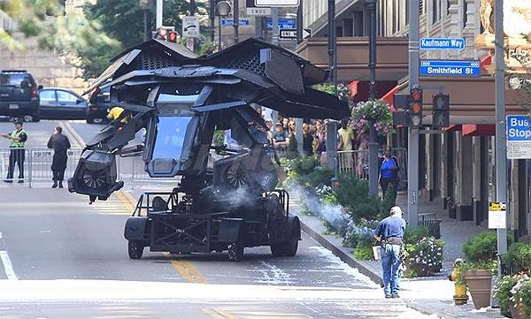 Batwing: Batman the Dark Knight Rises Filming in Pittsburgh