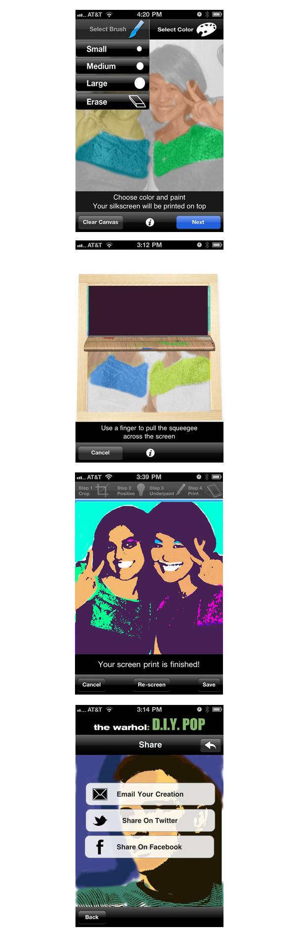 Diy Pop No Not The Drink Andy Warhol App In Boring