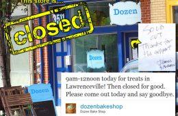 Dozen Bake Shop's Final Bake Sale