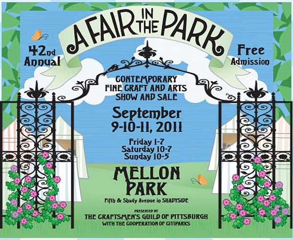 42nd Annual A Fair in the Park 2011 at Mellon Park