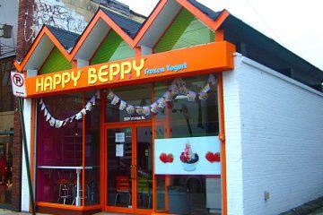 Happy Berry Frozen Yogurt on Walnut Street in Shadyside