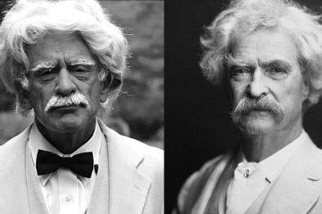 Alan Solter as Mark Twain