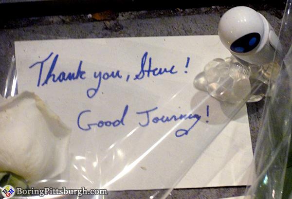 Thank you, Steve! Good Journey!