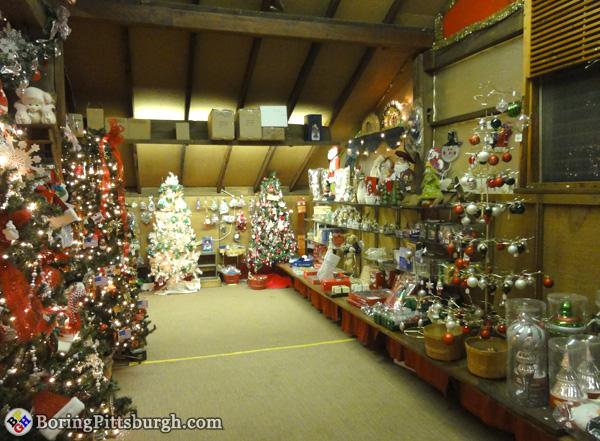 Christmas Barn at Hozak Farms tree ornaments for sale