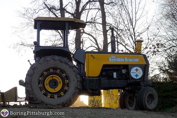 The Terrible Tractor at Hozak Farms