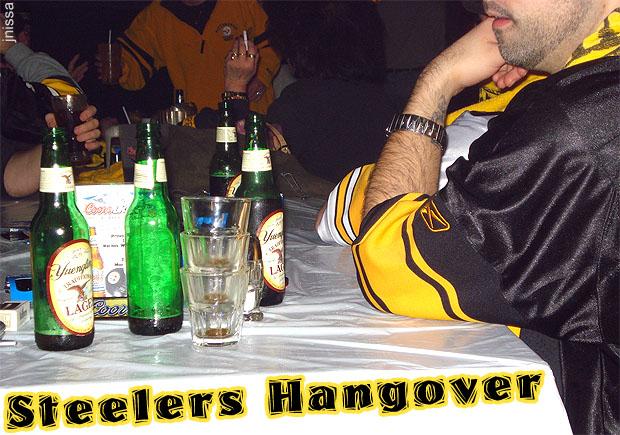 Steelers Hangover