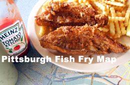 Pittsburgh Fish Fry Map