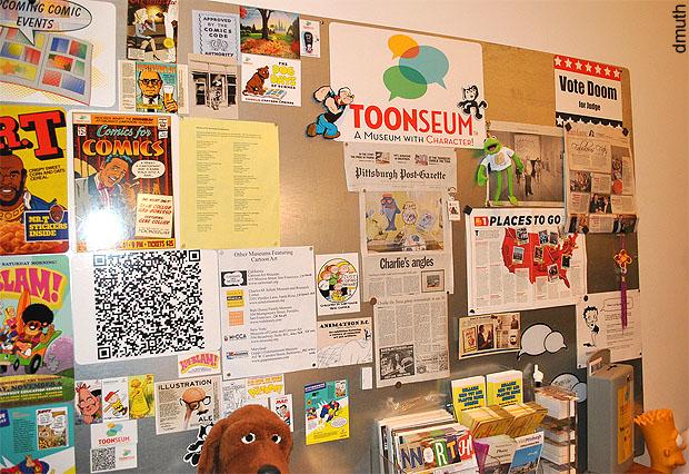 Toonseum Magnet Board