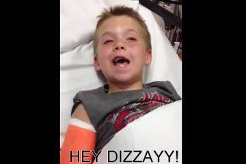 I feel dizzy!