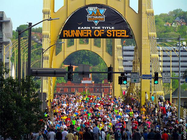 "2012 Pittsburgh Marathon ""Runner of Steel"""