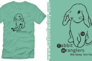 Cotton Factory Rabbit Wranglers T-Shirts