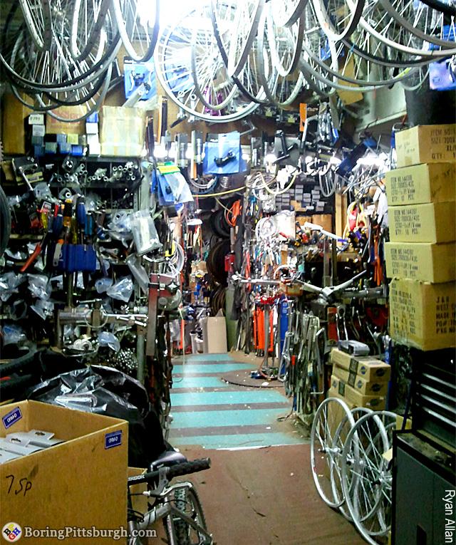 Kraynick's Bike Shop Friendship