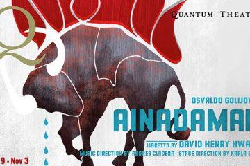 Quantum's current production, of Osvaldo Golijov's opera, Ainadamar, at the East Liberty Presbyterian Church