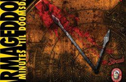 "Future Tenant Play Festival Flyer ""ARMAGEDDON: 10 Minutes 'Til Doomsday"""