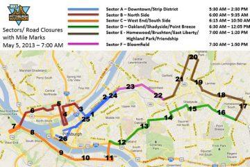 2012 Pittsburgh Marathon in Boring Pittsburgh