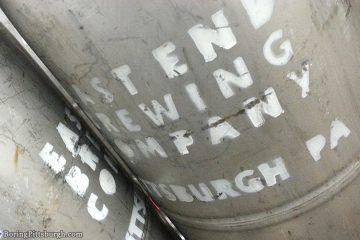 East End Brewery Pittsburgh Kegs