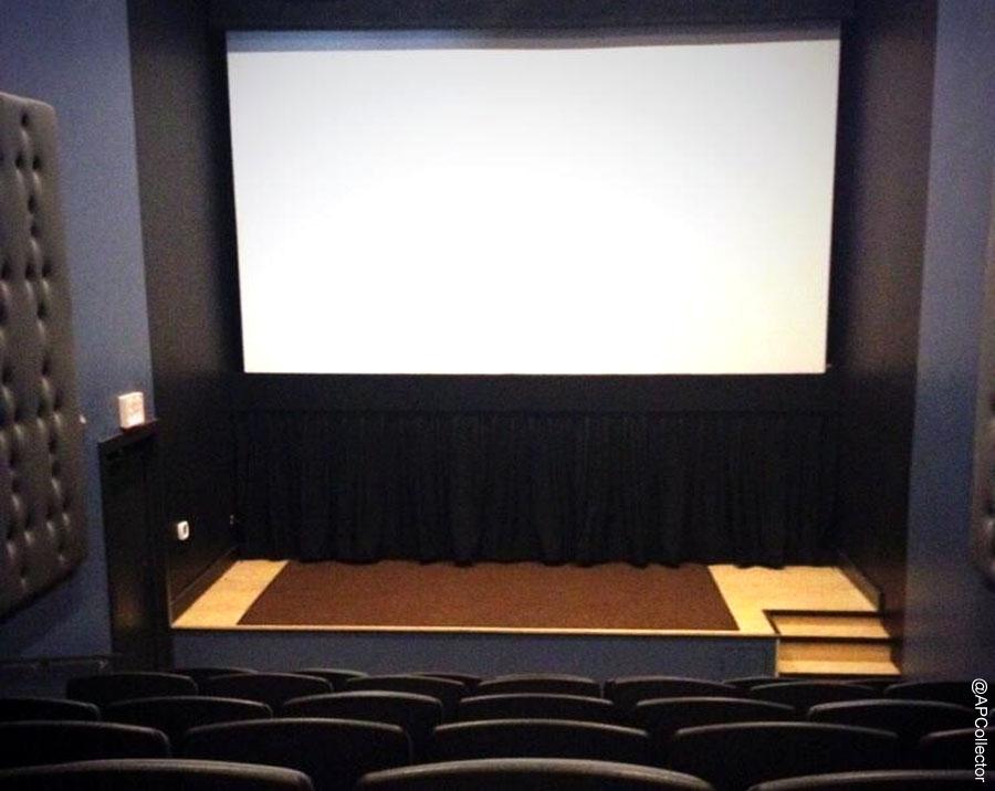 Row House Cinemas Interior Single Screen Theater