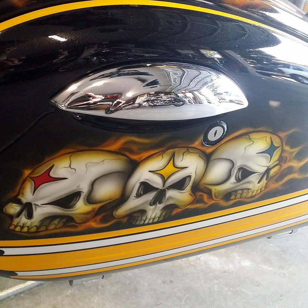 Pittsburgh Steelers Custom Motorcycle