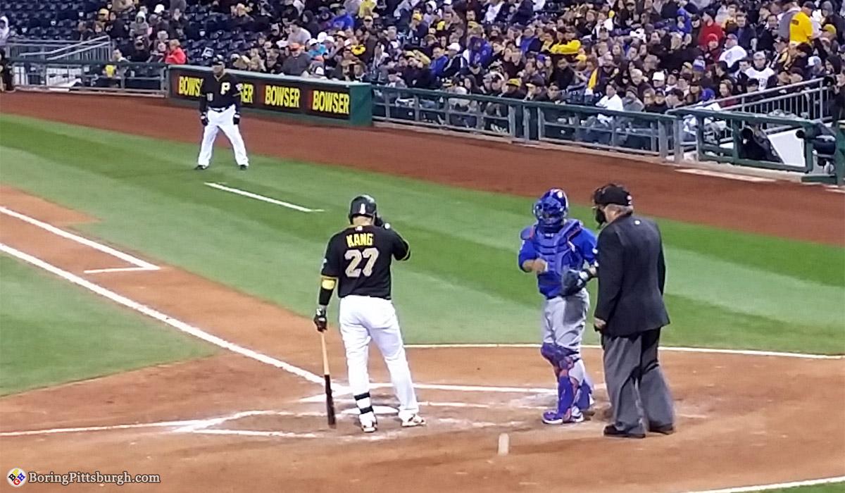 Jung Ho Kang Korean Baseball Player Pittsburgh Pirates 27