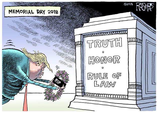 Rob Rogers Pittsburgh Post Gazette Politcal Satire Cartoonist